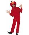 Elmo kostuum voor volwassenen